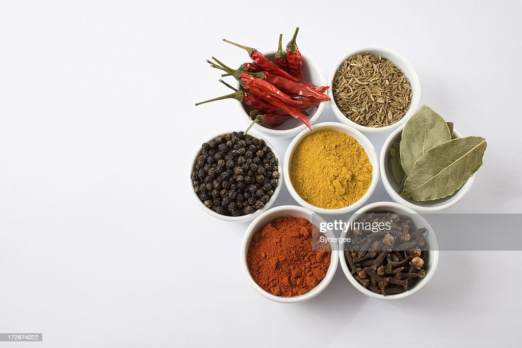 Seven spices : Stock Photo