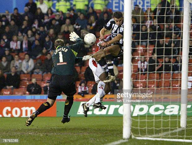 Seven Taylor during the FA cup 3rd round tie at the Britannia Stadium on January 6, 2008 in Stoke on Trent, United Kingdom.