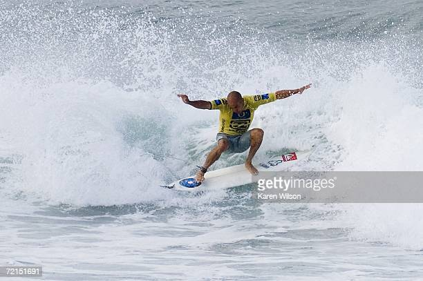 seven times reigning ASP world champion Kelly Slater from Cocoa Beach Fl USA continued his campaign for an eighth world title when he advanced to the...