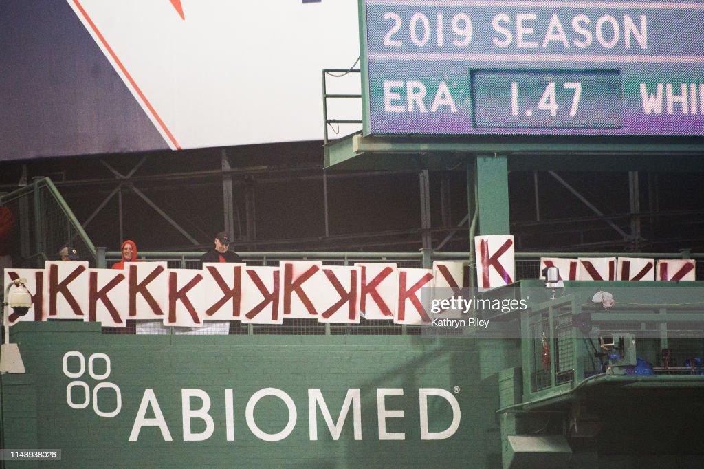 Colorado Rockies v Boston Red Sox : News Photo