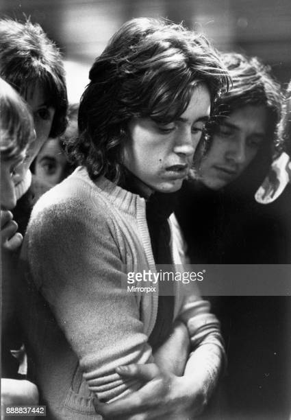 Seventeen year old football fan a member of the Clayton mob who supports Manchester United 7th October 1972