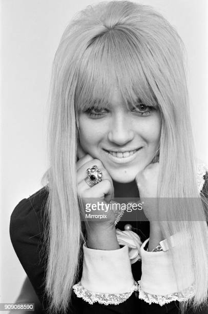 Seventeen year old singer Lynn Annette Ripley better known as Twinkle pictured at home 3rd November 1964