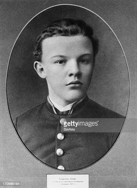 Seventeen year old vladimir ilyich ulyanov the year he graduated the simbirsk gymnasium in 1887