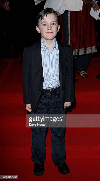 """Seventh generation offspring of William Wilberforce, Greg Wilberforce, arrives at the UK premiere of """"Amazing Grace"""" at the Curzon Mayfair on March..."""