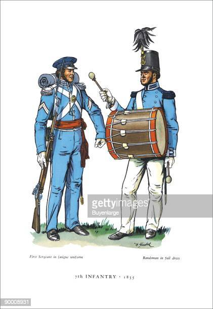 Seventh Infantry, 1835