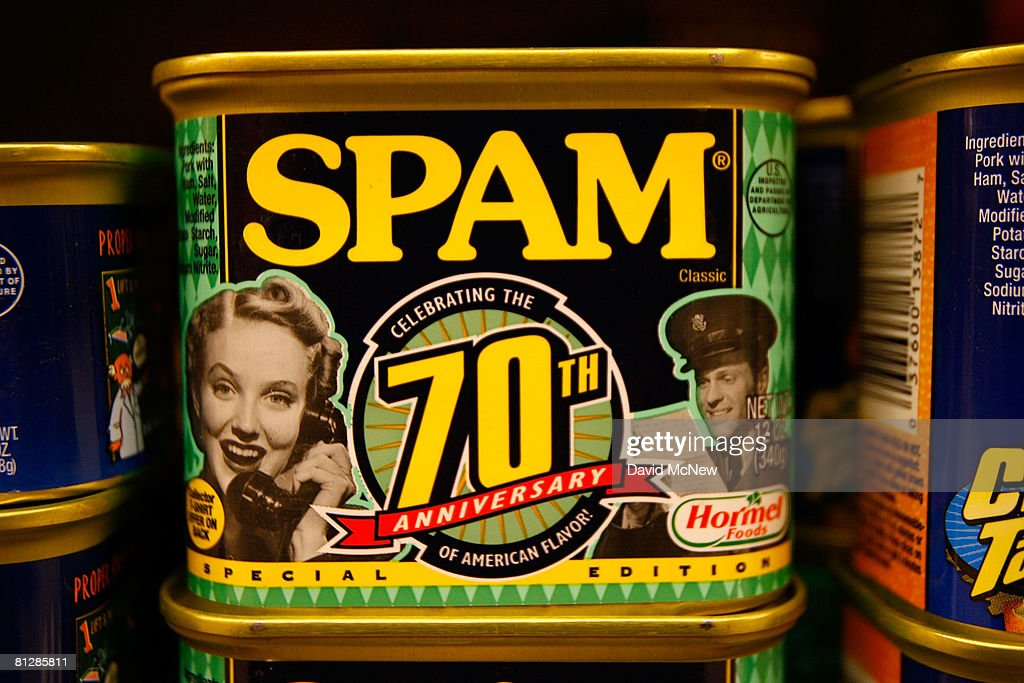 Sales Of Low Cost Canned Meat Spam On The Rise Amid Rising Food Cost : News Photo