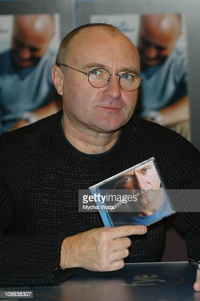 Seventime Grammy Winner Phil Collins celebrated the release of his new CD Testify with a signing event at the FYE store on Sixth Ave in Manhattan...