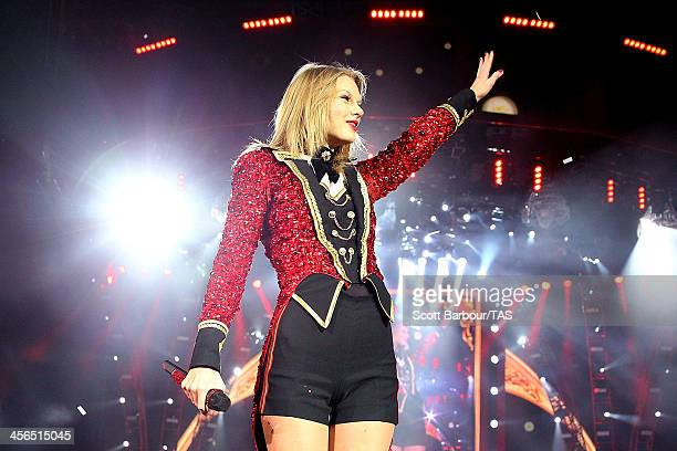 Seventime Grammy winner Taylor Swift concluded the Australian leg of her RED tour playing to a soldout crowd of more than 40000 fans at Etihad...