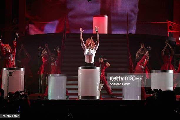Seven-time Grammy winner Taylor Swift took the European leg of her blockbuster The RED Tour show to Berlin's, O2 World playing to a capacity crowd of...