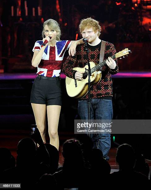 Seventime Grammy winner Taylor Swift was joined on stage by Ed Sheeran as she kicked off the European leg of her blockbuster The RED Tour with the...