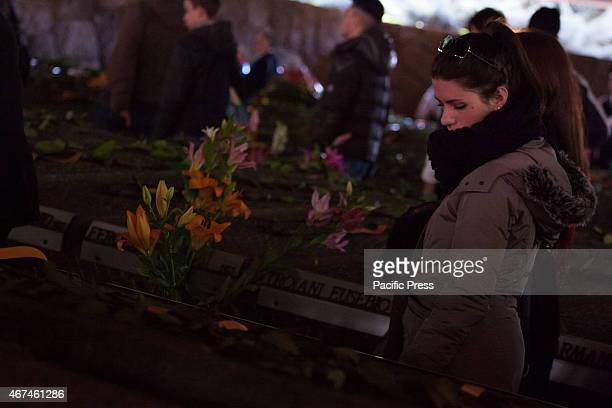 Seventyfirst anniversary of the massacre Ardeatine Graves On March 24 1944 335 prisoners were killed by Nazi troops Today was the commemoration of...