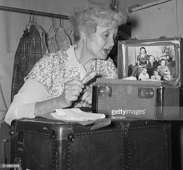Seventyone years old and still touring the straw hat circuit is Billie Burke widow of the famed Florenz Ziegfeld She's making up for her role in...