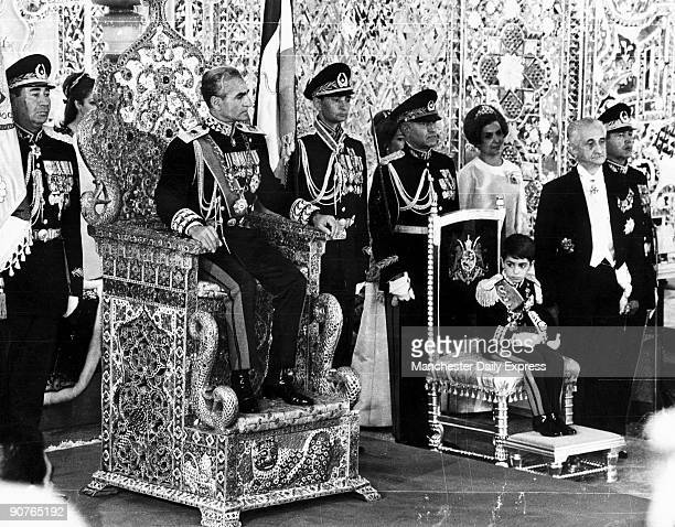 Sevenyearold Crown Prince Reza attends the coronation of his father the Shah Muhammad Reza Pahlavi In 1979 the Shah left the country having lost...