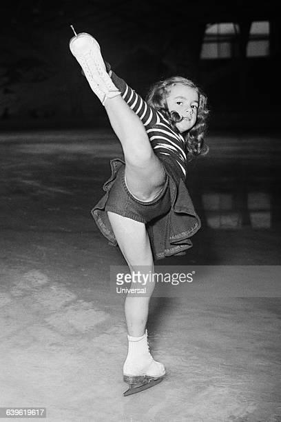 Sevenyearold French figure skater Dany Rigoulot