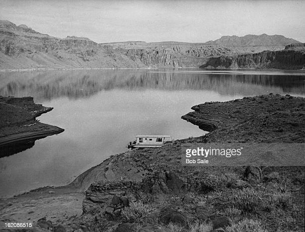 APR 5 1976 APR 7 1976 Several canyon arms along what used to be Colorado River provided party of five with good fishing for largemouth bass and...