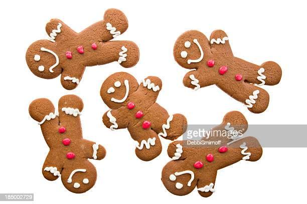 Plusieurs pain au gingembre pour hommes
