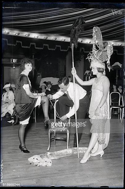 8/8/1921 Several hundred of New York's fairest young women applied for places in the Beauties of History tableaux which will be part of the Moulin...