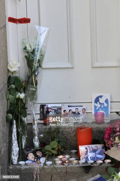 Several hundred people take part in a march in Nantes western France in memory of the five Dupont de Ligonnes members from the same family murdered...