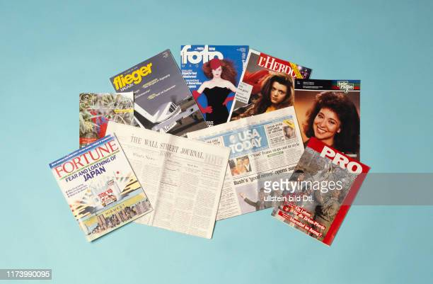 Several magazines and catalogues Ringier Print 1990