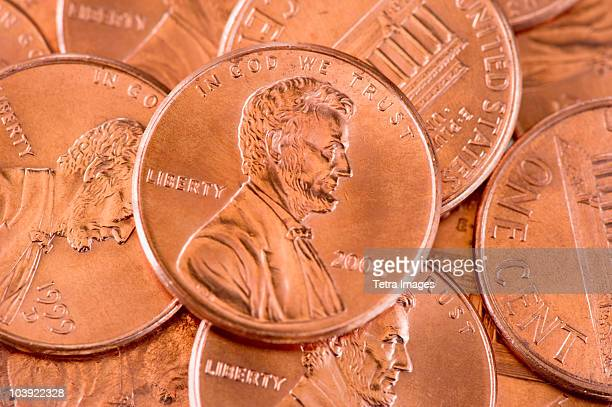 Several pennies