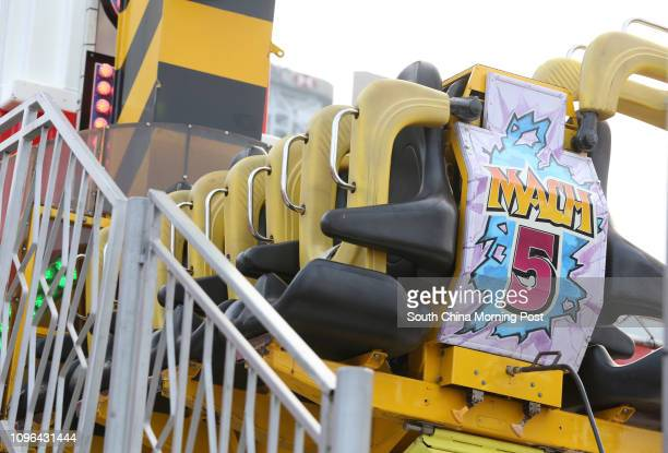 Several rides including mach 5 were not available on the opening day of the AIA Great European Carnival as they were pending approval from government...