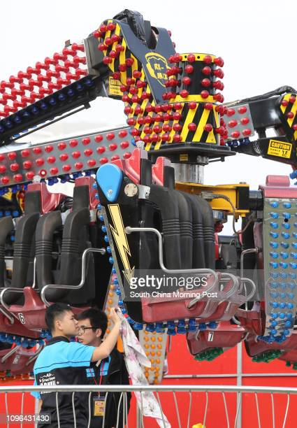 Several rides including the Remix Orbiter were not available on the open day of AIA Great European Carnival as they were pending approval from the...