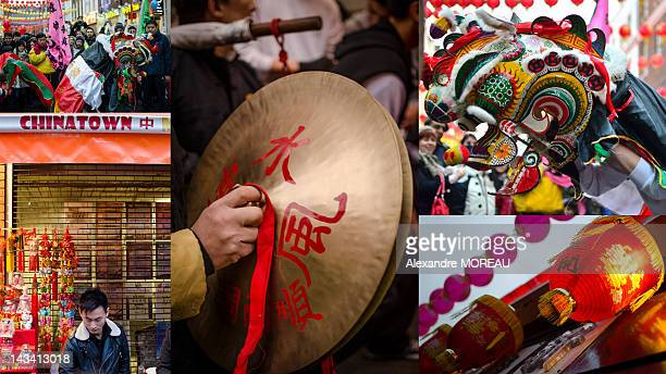 Several street scenes gather in China Town London