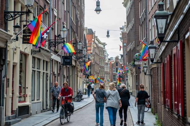 NLD: Pride Month Celebrations In Amsterdam