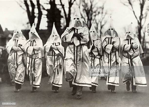 Several thousand Klansmen paraded yesterday in Red Bank NJ in the local Armistice Day Celebration and there were many hisses heard along the line of...