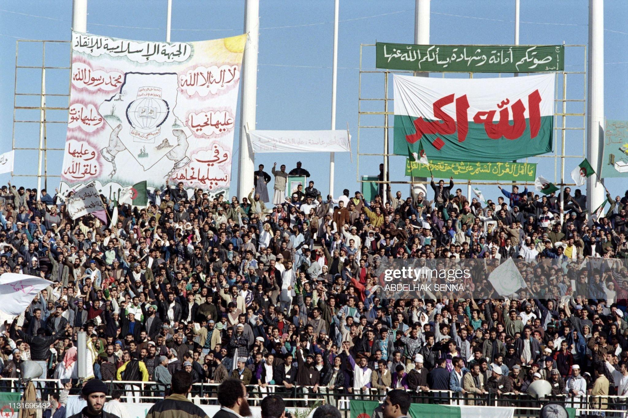 ALGERIA-FIS-MEETING : Photo d'actualité