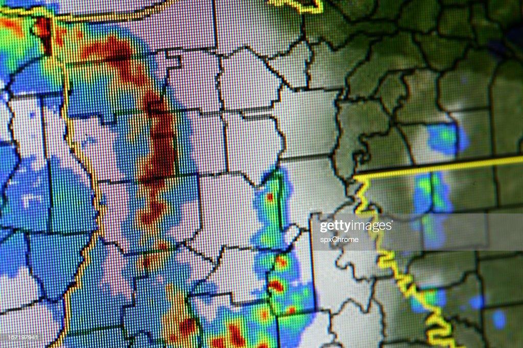 Alerte météo difficiles : Photo