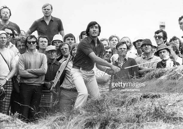 Severiano Ballesteros in the sandhills of Royal Birkdale Southport Lancashire
