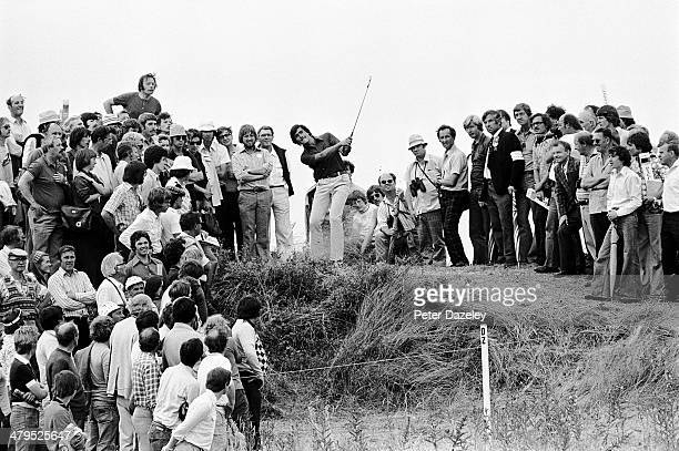 Severiano Ballesteros of Spain during the 105th Open Championship played at Royal Birkdale Golf Club on July 10 1976 in Southport England