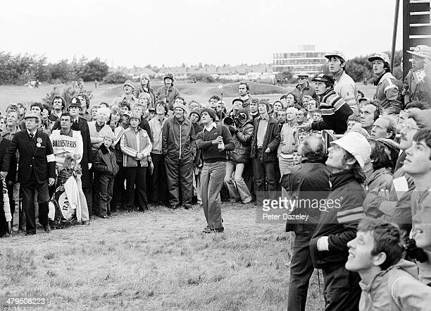 Severiano Ballesteros of Spain during the final round of the 108th Open Championship played at Royal Lytham and St Annes Golf Club on July 21 1979 in...