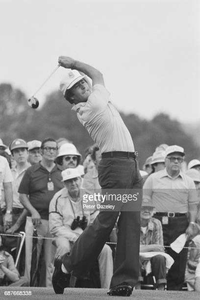 Severiano Ballesteros of Spain during the Masters Tournament at Augusta National Golf Club 1980 in Augusta Georgia