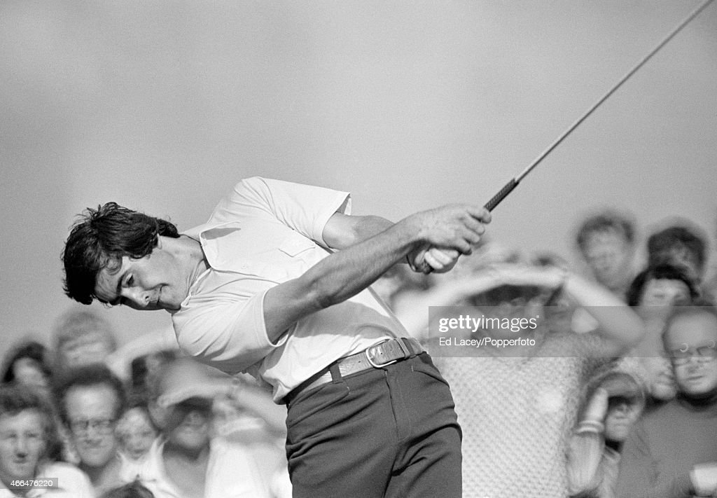 Severiano Ballesteros of Spain in action during the British Open Golf Championship at the Royal Birkdale Golf Club in Southport on 10th July, 1976.