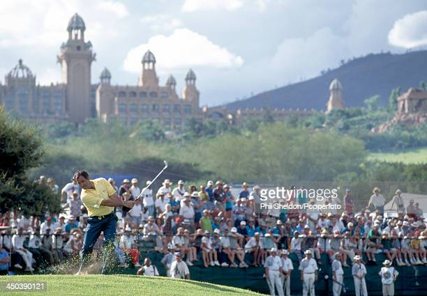Severiano Ballesteros of Spain in action during the One Million Dollar Challenge Golf Tournament held at the Gary Player Country Club South Africa...