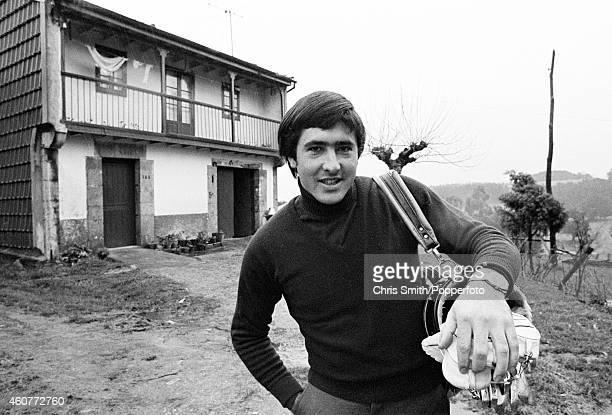 Severiano Ballesteros of Spain outside his home in Pedrena circa 1977