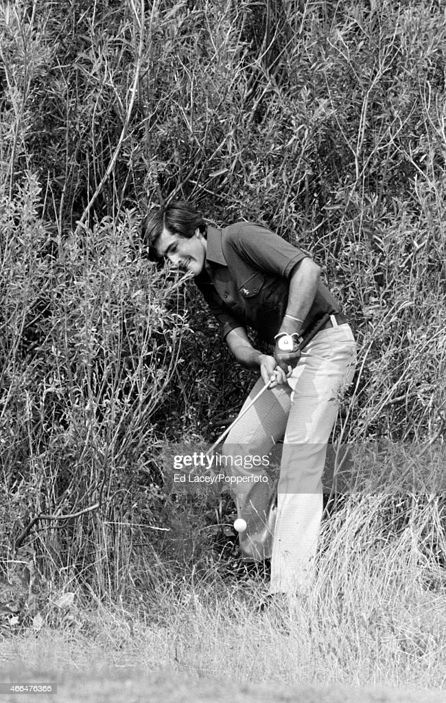 Severiano Ballesteros of Spain plays out from the rough during the British Open Golf Championship at the Royal Birkdale Golf Club in Southport on 10th July, 1976.