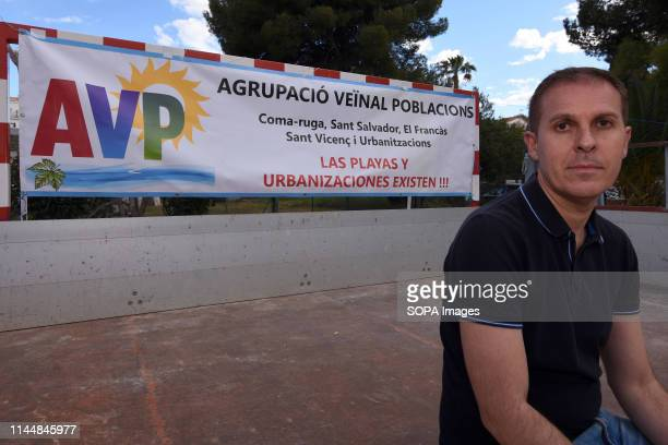EL VENDRELL TARRAGONA SPAIN Severiano Matamoros candidate for the Neighbourhood Association of the beach AVP is a group of neighbours who have come...