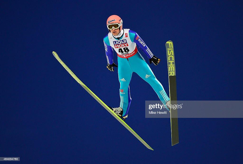 Ski Jumping: Men's HS100 - FIS Nordic World Ski Championships : News Photo