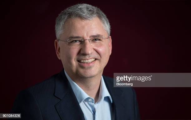 Severin Schwan chief executive officer Roche Holding AG poses for a photograph following an interview in London UK on Wednesday Dec 6 2017 Roche's...