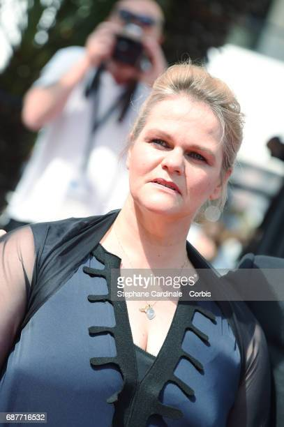 Severine Caneele attends the 'Rodin' screening during the 70th annual Cannes Film Festival at Palais des Festivals on May 24 2017 in Cannes France