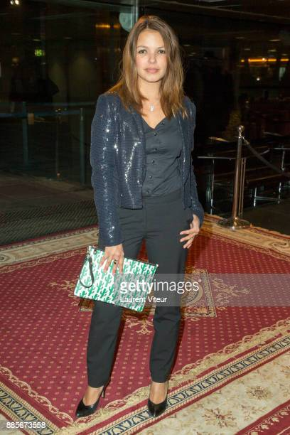 Severine Ferrer attends the 30th anniversary celebration of Institut du Monde Arabe Institut du Monde Arabe on December 4 2017 in Paris France