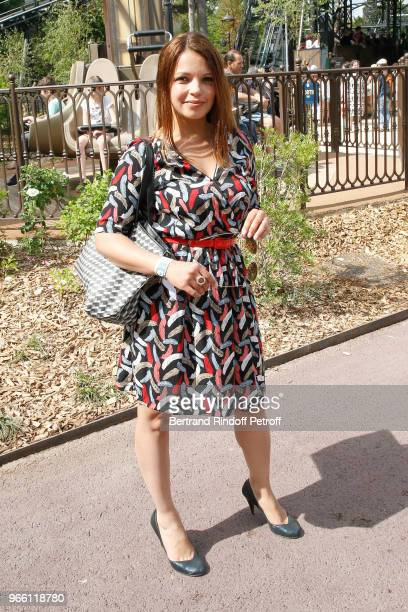 Severine Ferrer attends the Inauguration of the new Jardin D'Acclimatation on June 2 2018 in Paris France
