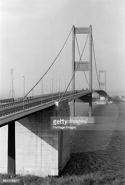 Severn Bridge near Bristol 1966 Now referred to as the old Severn Bridge The first Severn crossing was constructed between 1961 and 1966 by Freeman...
