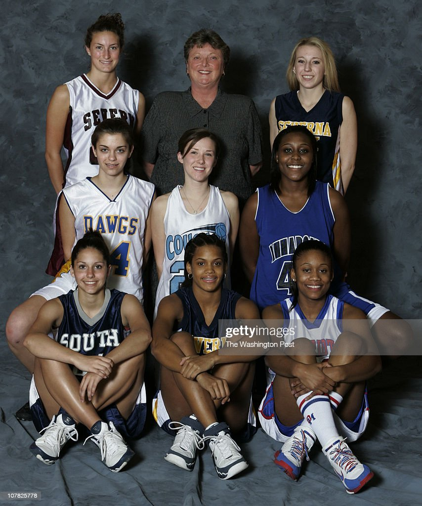 Severn, MD Anne Arundel County All-County winter sports teams at Archbishop Spalding High School on  : News Photo