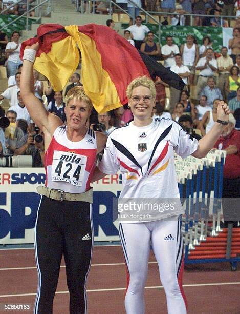 FRAUEN Sevilla Astrid KUMBERNUSS/GER Nadine KLEINERT/GER