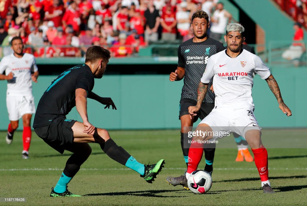 SOCCER: JUL 21 Liverpool v Sevilla : News Photo