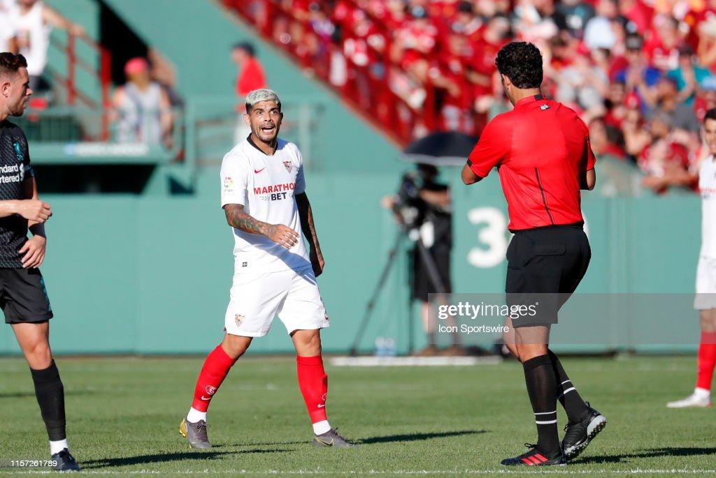SOCCER: JUL 21 Liverpool v Sevilla : News Photo